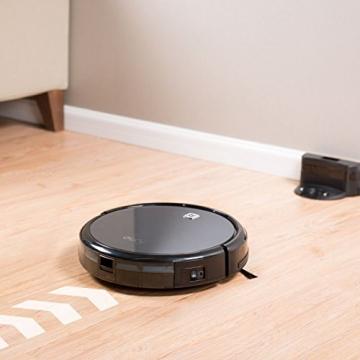 eufy RoboVac 11 Staubsauger Roboter mit Hoher Saugkraft, Saugroboter mit HEPA Filter und Fallsensoren geeignet für Tierhaare und Allergiker, für Hartböden und flache Teppiche -