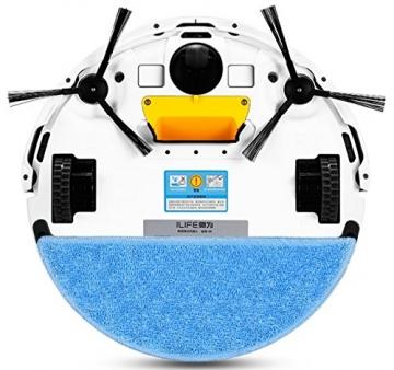 ILIFE V5s Pro - neue Version - Saugroboter und Wischroboter in Einem - leises und 8,3cm flaches Kombigerät mit großem Wassertank und Staubbehälter, HEPA-Filter und Wischmodul bestens geeignet für Allergiker sowie für Haushalte mit Tieren und verschiedenen Böden -