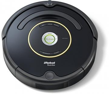 iRobot Roomba 650 Staubsaug-Roboter (Zeitplan einstellbar, 1 Virtuelle Wand) schwarz -