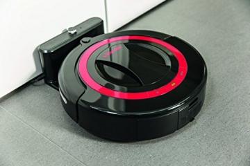 Vileda Relax Plus Saugroboter mit Ladestation, Hinderniserkennung und Zeitsteuerung -