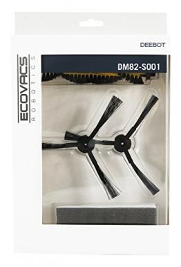 Zubehör-Set DM82-S001 (Hauptbürste, Seitenbürsten, Filter) für DEEBOT M82 (Gelbe Hauptbürste) -