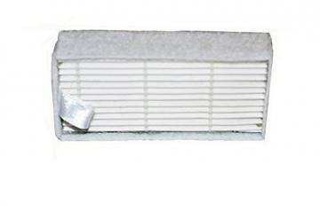 2 Paar Ersatzbürsten & 1 Hepa-Filter für Medion MD 16192 -