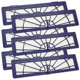 6 Stück XL Mikro High Performance Hochleistungs Hepa Filter für alle Neato Botvac Typen 70, 70E, 75, 75E, 85, 85E, BotVac Serie , BotVac D Serie, BotVac Connected von SchwabMarken -