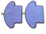 Moneual Mopp Set (2 Stück) für ME770 / ME685 und MR6800 -